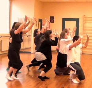 Danse libre à Roanne - animé par Yolande Bertrand - 6