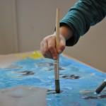 atelier arts plastiques Créalib - peinture - Roanne 42 - Yolande Bertrand