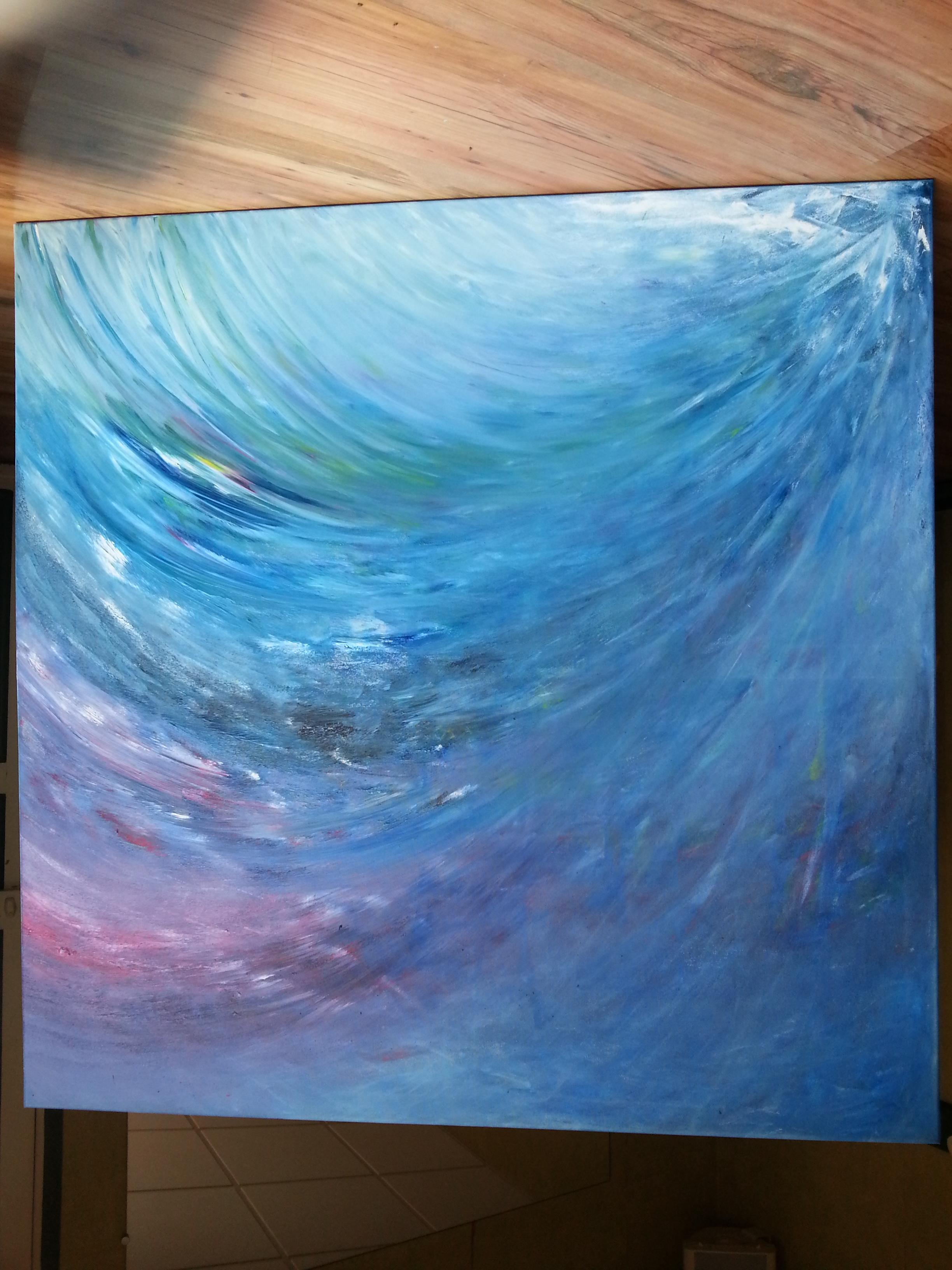 Peinture du mouvement présent - Yolande Bertrand - 14 juillet 2018 20h (2)