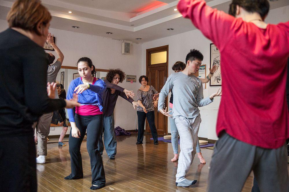 Qi dance
