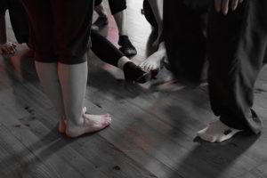 Danse libre à Roanne, proposé par Yolande Bertrand, Sessions de pratique